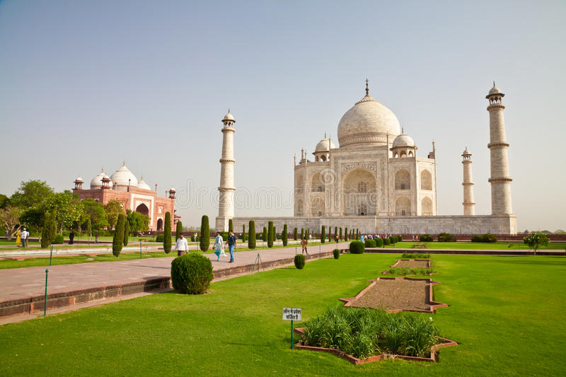 Taj Mahal Located In Agra 5 Editorial Photography