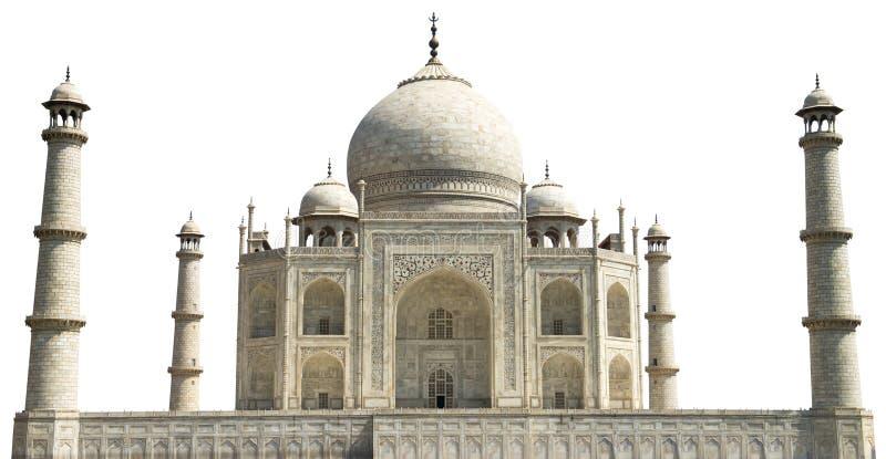 Taj Mahal lopp till Agra Indien som isoleras