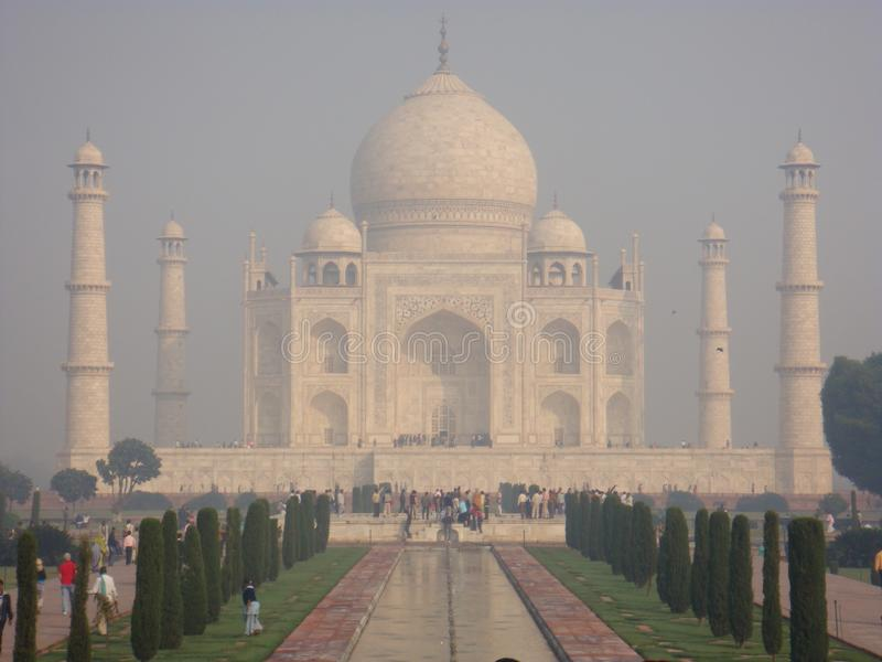 Taj Mahal Majesty imagem de stock