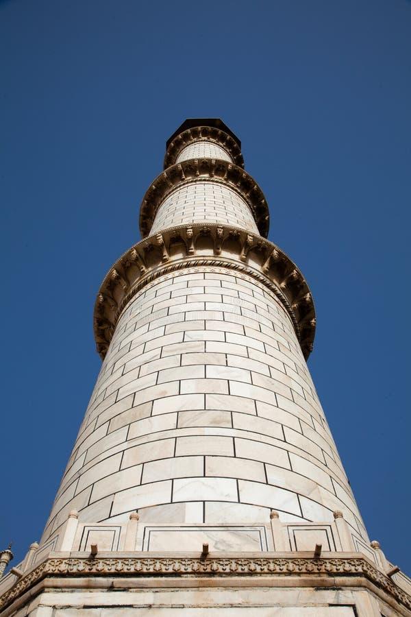 Taj Mahal Minaret In Agra India Royalty Free Stock Images