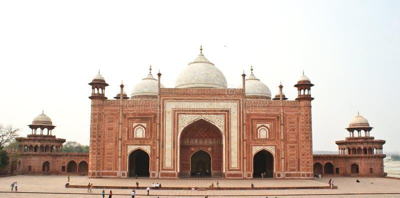 The Taj Mahal Mosque, Agra,India royalty free stock photos