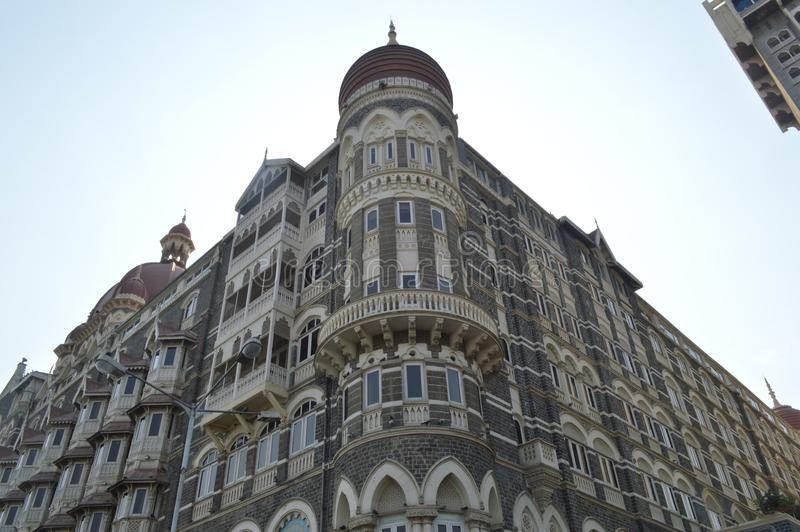 Taj Mahal, Mumbai, Indien stockfotografie