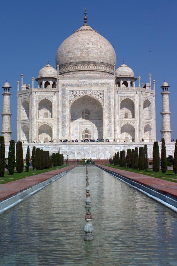 The Taj Mahal palace stock photo