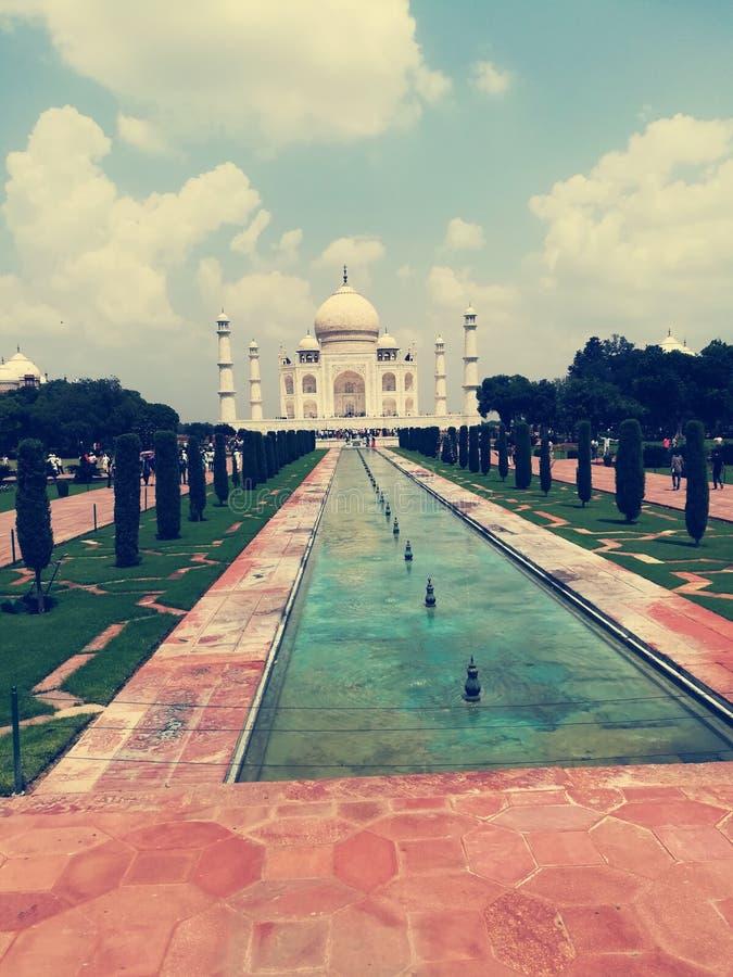 Taj Mahal palace at Agra in India. Taj mahal palace at  in, agra, india, architecture, love, luxury, , , , , , , marble, mausoleum, , bank, yamunariver, indian stock photos