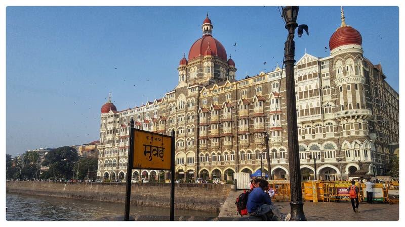 Taj Mahal Palace Hotel royaltyfria foton