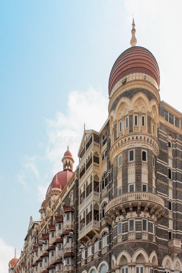 Taj Mahal Palace Hotel royaltyfri bild
