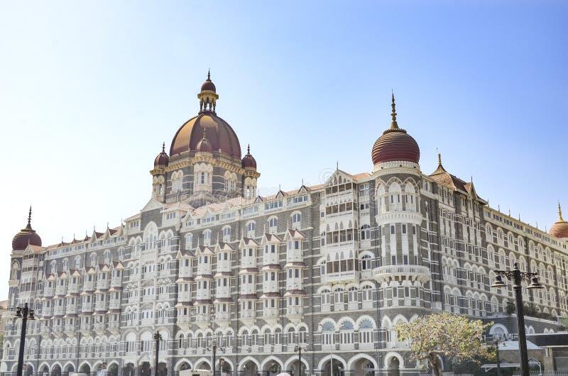 Taj Mahal Palace Hotel, Mumbai, India royalty-vrije stock afbeelding