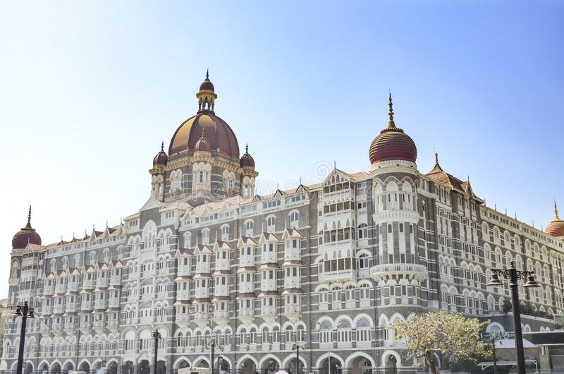 Taj Mahal palace hotel, Mumbai, India obraz royalty free