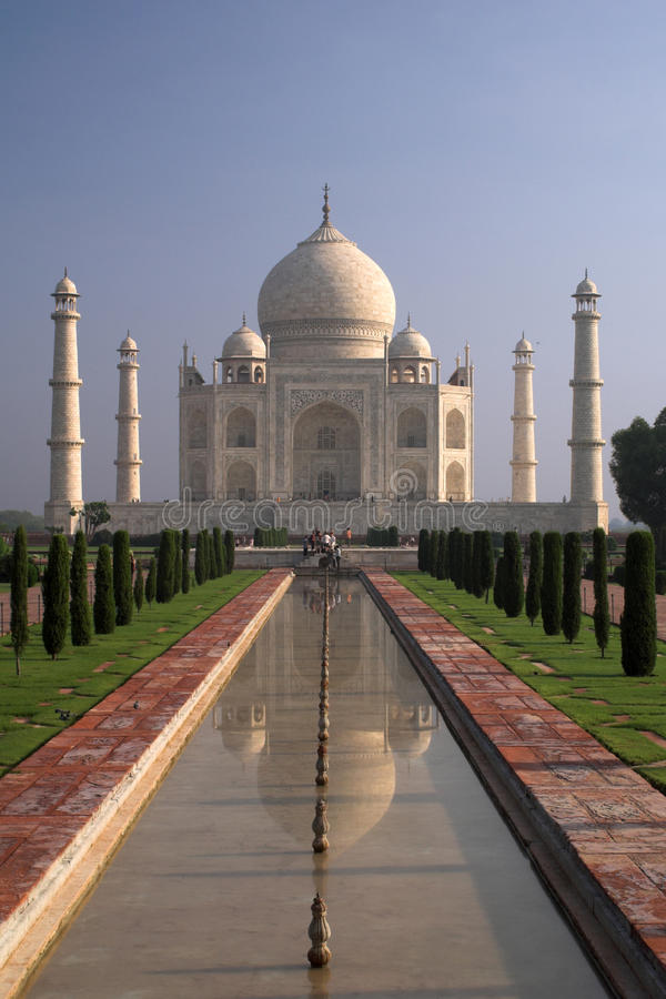 Download Taj Mahal Shrine In Agra, India Stock Image - Image: 19156671