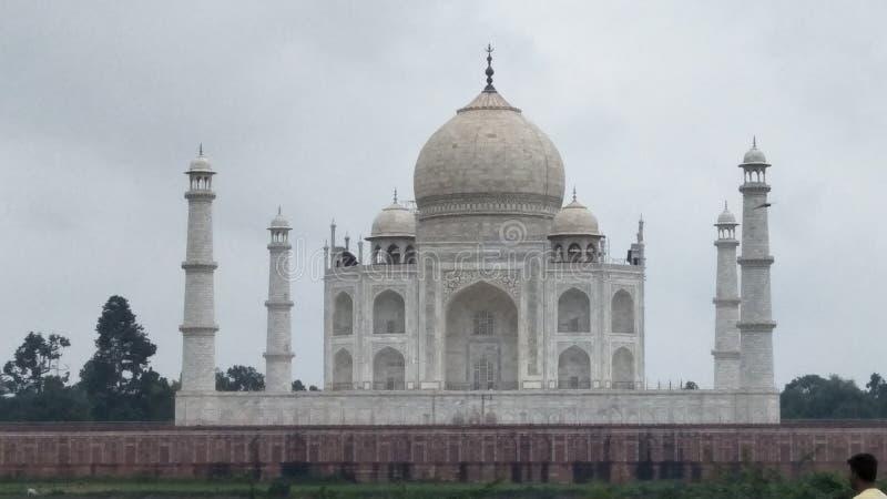 Taj Mahal a situé à Âgrâ photos stock