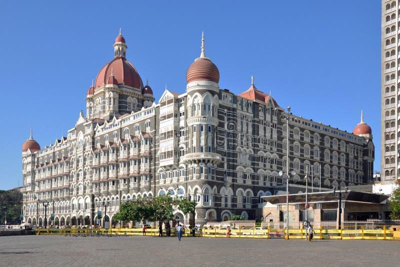 Taj Mahal slotthotell fotografering för bildbyråer
