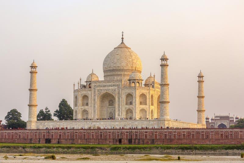 Download Taj mahal in sunset stock photo. Image of jahan, love - 39509258