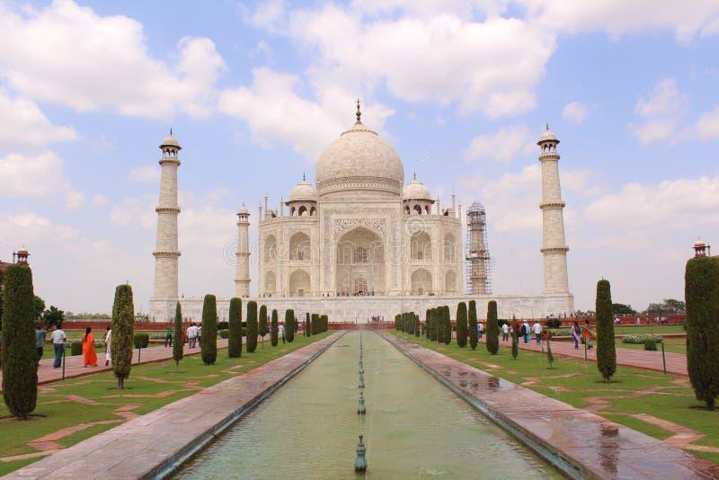 Taj Mahal, The Symbol of Indian Love stock photo