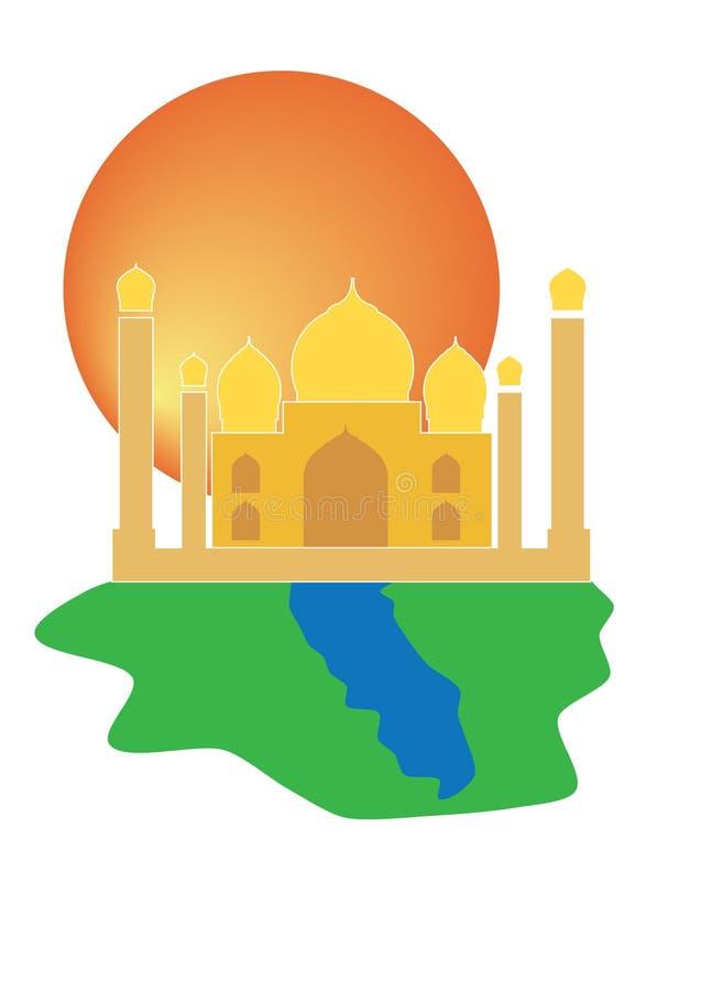 Taj Mahal Temple of Love India stock photos