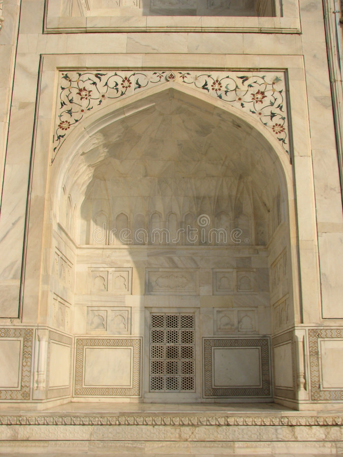 Download Taj Mahal tomb detail stock photo. Image of dome, agra - 9127230