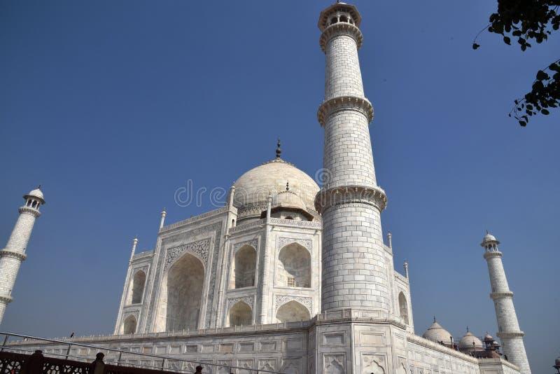 Taj Mahal - UNESCO-Welterbmitte stockfotografie