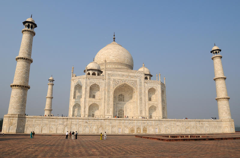 Download Taj Mahal view stock photo. Image of holiday, india, historic - 11979694