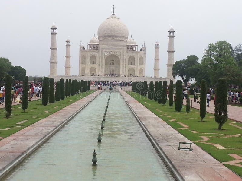 Taj Mahal View Agra India lizenzfreie stockfotos