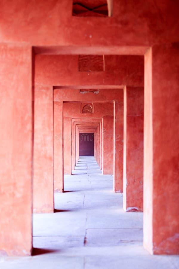Taj Mahal Western Gate stock foto