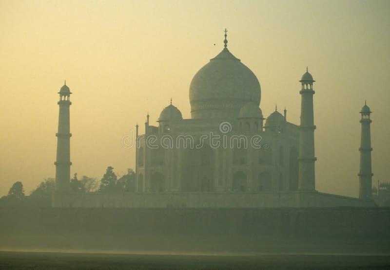 Taj Mahal, zonsopgang royalty-vrije stock foto's