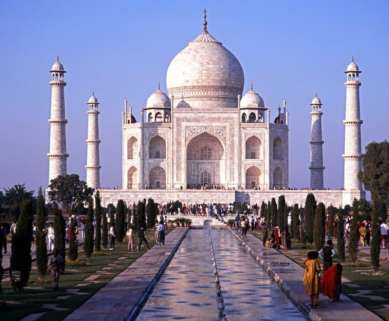 Taj Mala, Agra fotografia stock