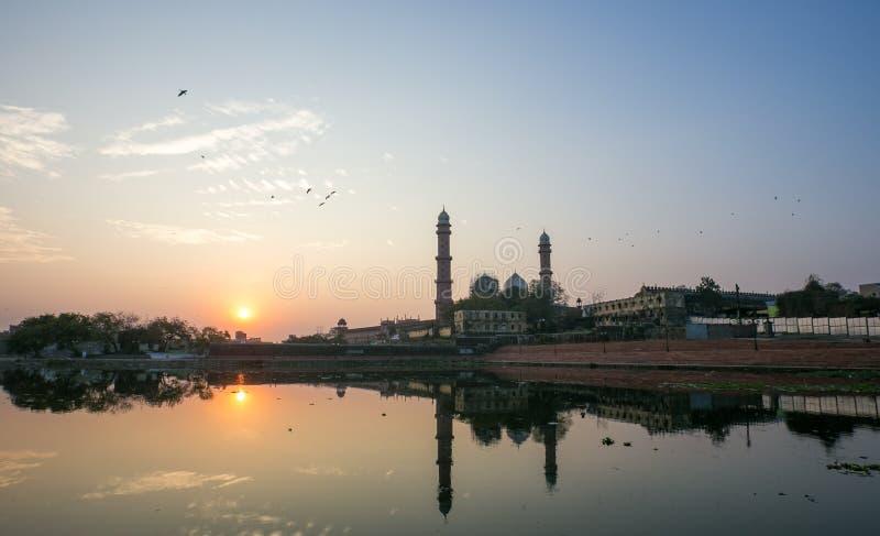 Taj ul Masajid Bhopal obraz stock