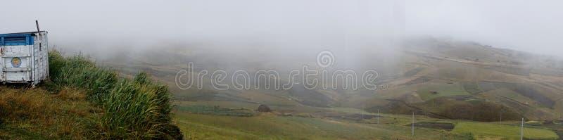 Tajemnica Andes zdjęcie stock
