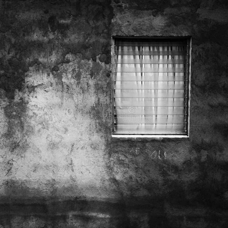 Tajemnicy okno obrazy stock
