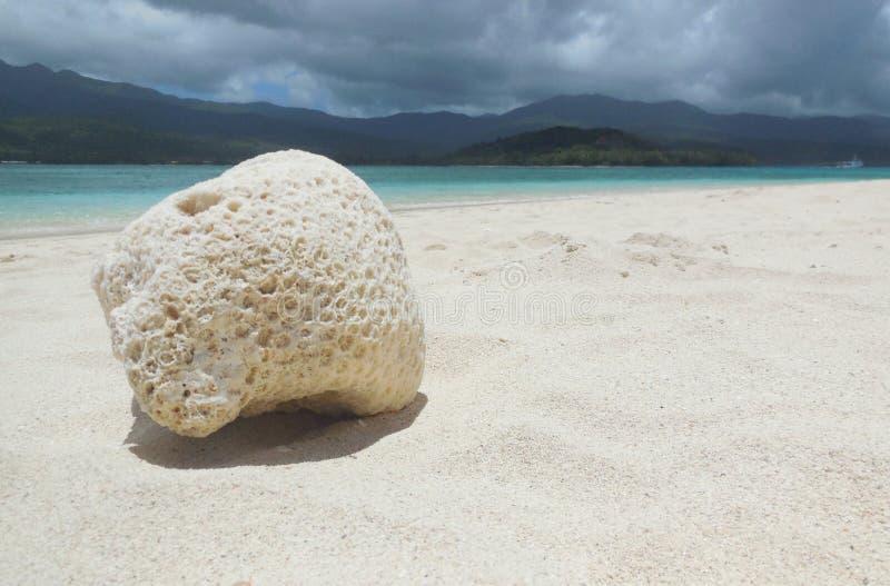 Tajemnicy wyspa zdjęcia royalty free