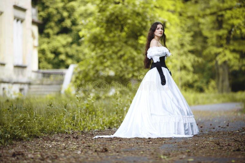 tajemnicza kobieta obrazy royalty free