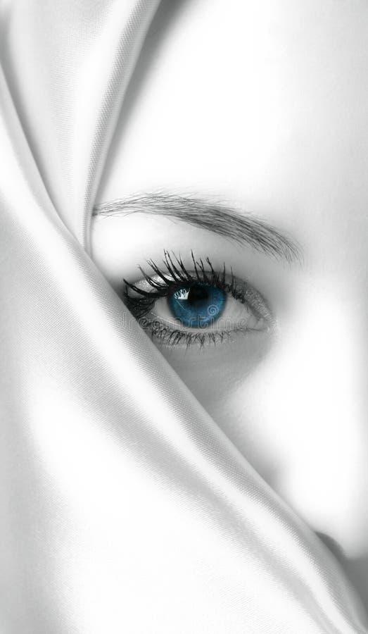 tajemnicza niebieska obrazy stock