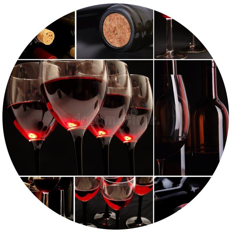 Tajemniczy wino zdjęcie stock