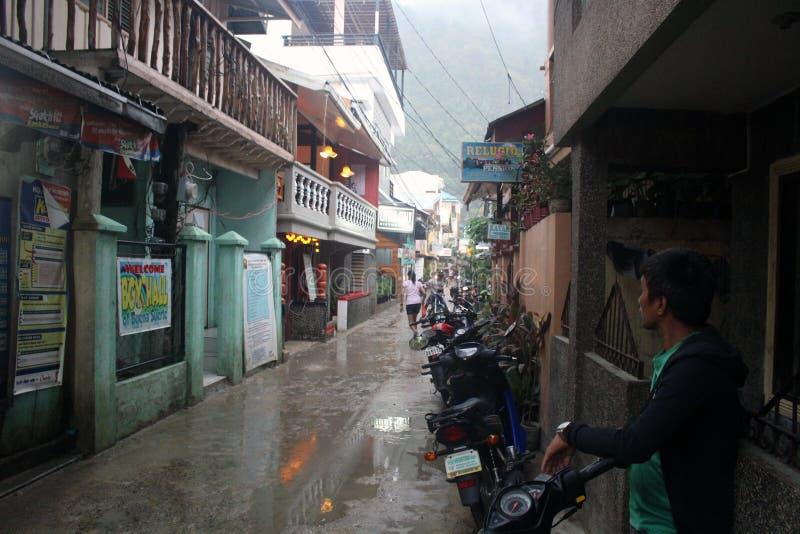 Tajfun Filipiny zdjęcie stock