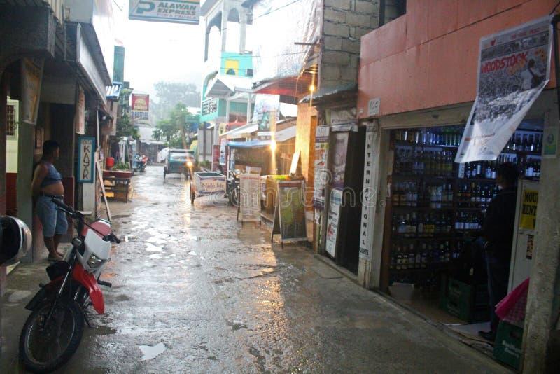 Tajfun Filipiny zdjęcia stock