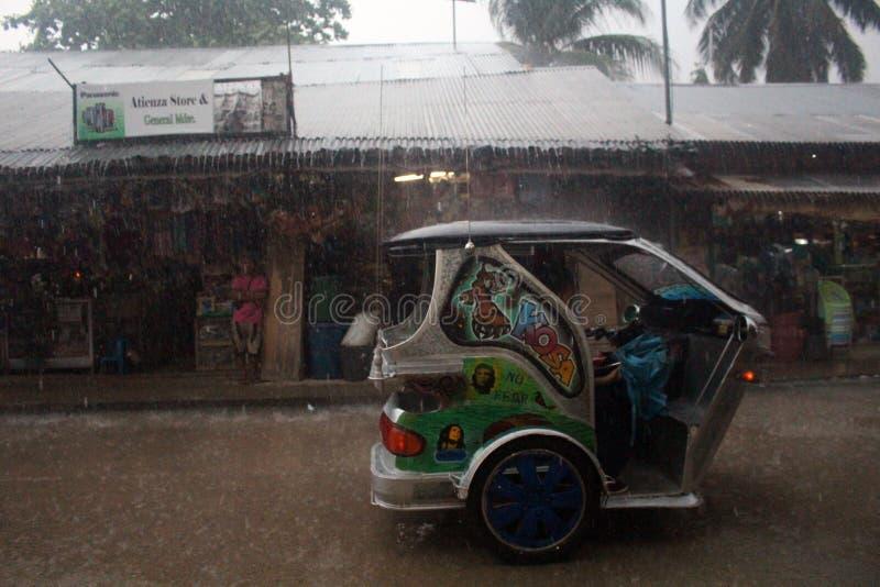 Tajfun Filipiny obrazy royalty free