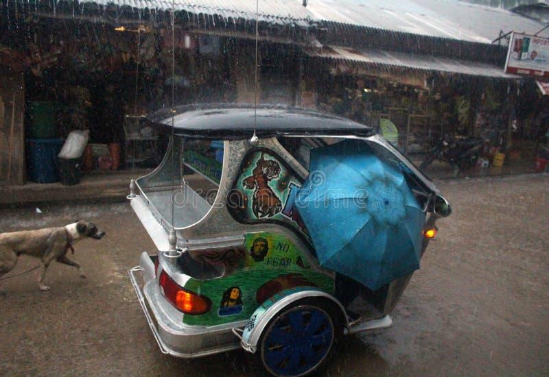 Tajfun Filipiny obraz stock