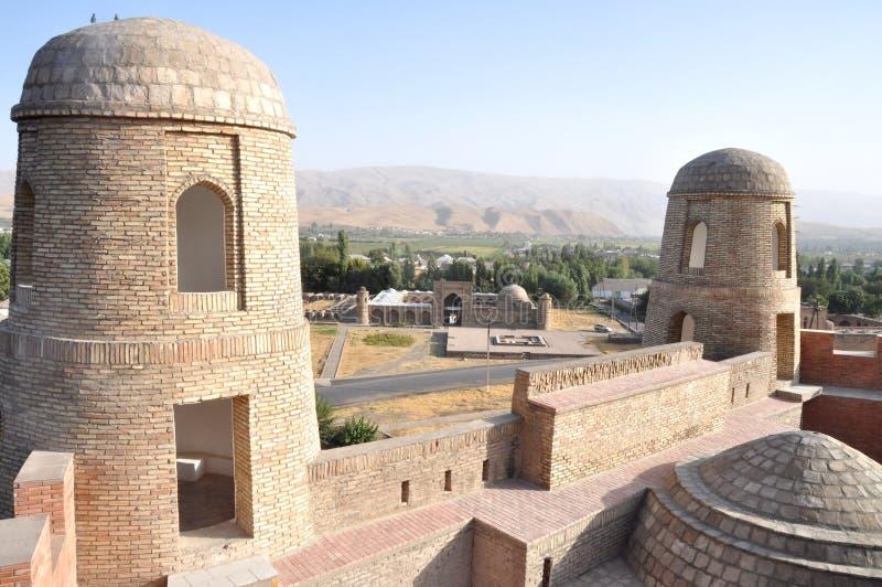 Tajikistan-Festung stockfotos