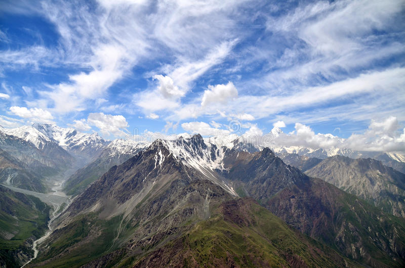 Tajikistan mountains royalty free stock image