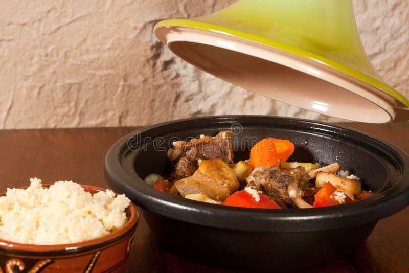 Download Tajine Dish On The Table Royalty Free Stock Photos - Image: 23639048