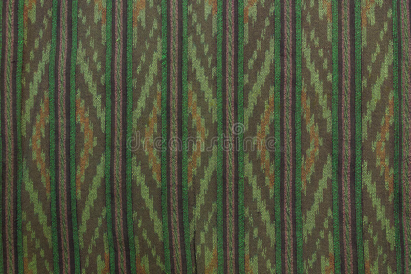 Tajlandia Bawełniana tkanina zdjęcie stock