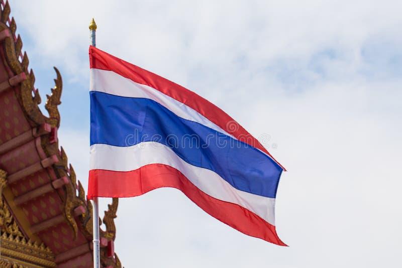 Tajlandia chorągwiani słupy zdjęcie royalty free