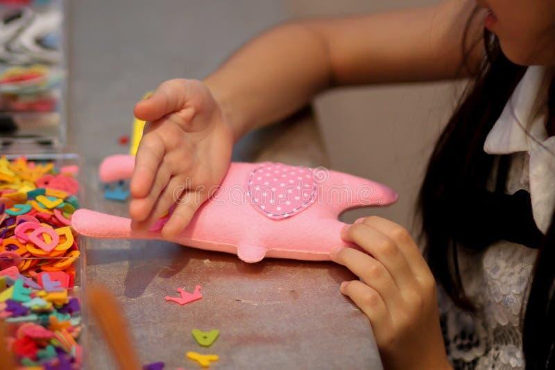 Tajlandia dziewczyny lala handmade fotografia royalty free