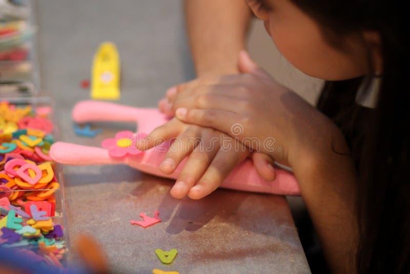 Tajlandia dziewczyny lala handmade obrazy royalty free