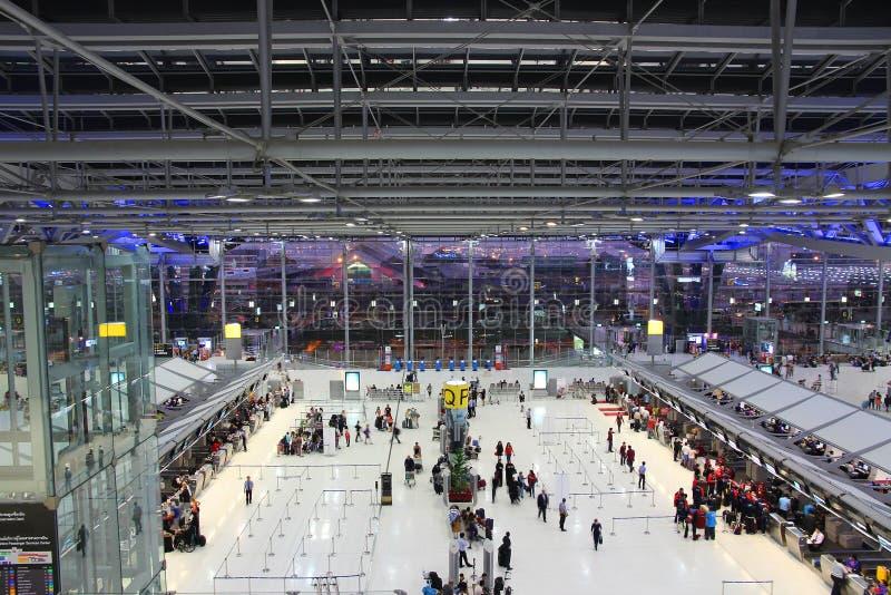 Tajlandia lotnisko obraz stock