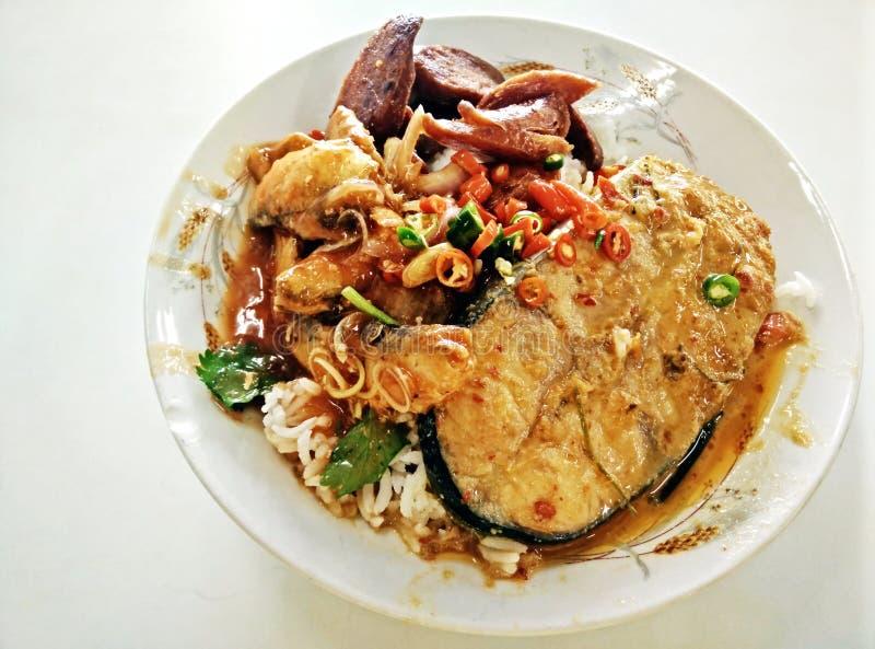Tajlandia lunch obraz stock