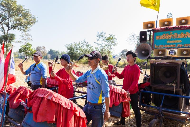 Tajlandia muzyka tradycyjny zespół bawić się muzykę ludowa fotografia royalty free
