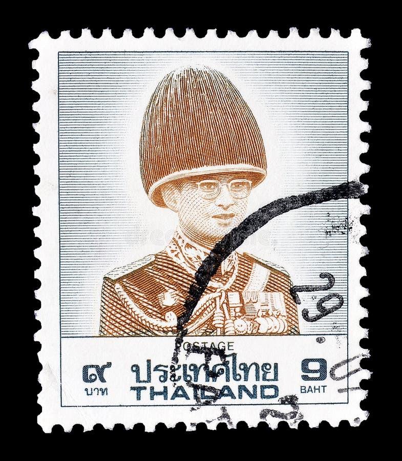 Tajlandia na znaczkach pocztowych obraz royalty free