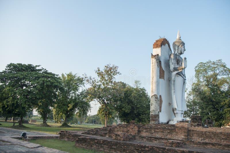 TAJLANDIA PHITSANULOK CHANDRA pałac ruiny zdjęcia stock