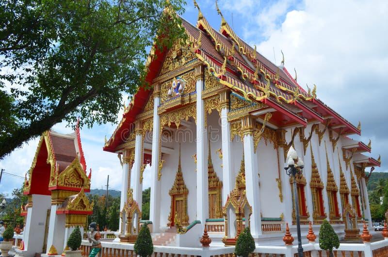 Tajlandia Phuket piękna kasztelu świątynia zdjęcia royalty free