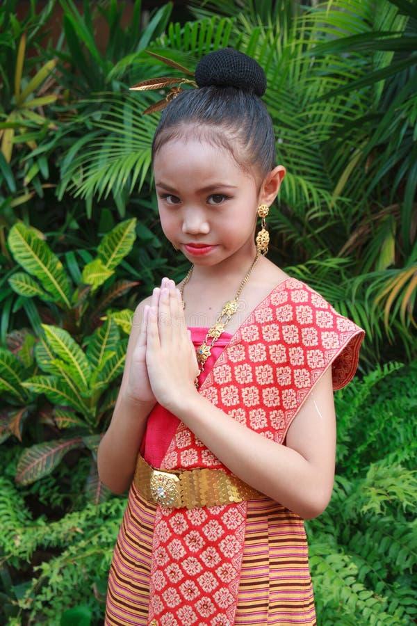 Tajlandia powitanie zdjęcia stock